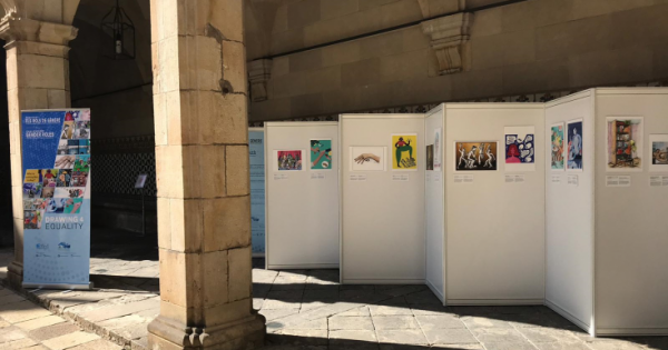 Our art exhibition moves to Tarragona Province!